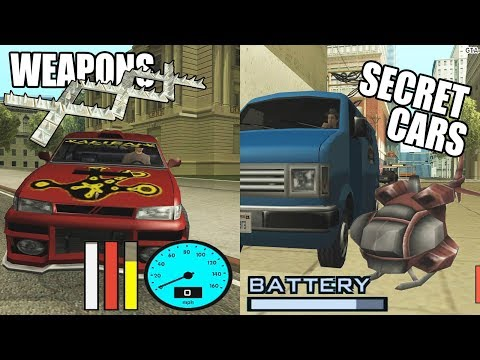 Secret Features and Hidden Weapons on Vehicles in GTA San Andreas Multiplayer