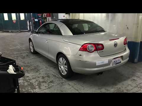 How to remove 2009 VW EOS rear bumper and taillights - Body Shop Basics