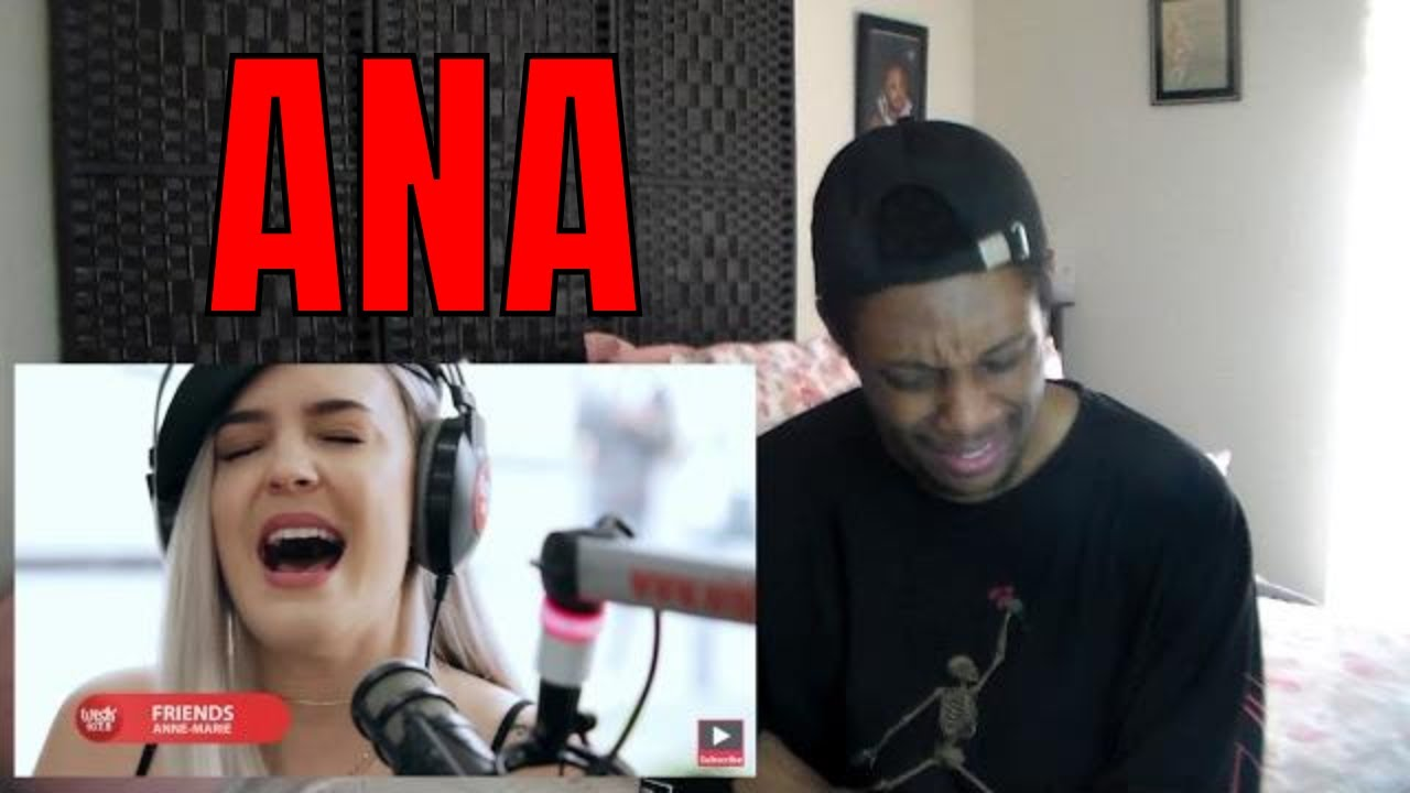 4ff9e35e Anne-Marie performs Friends LIVE on Wish 107.5 Bus REACTION! - YouTube