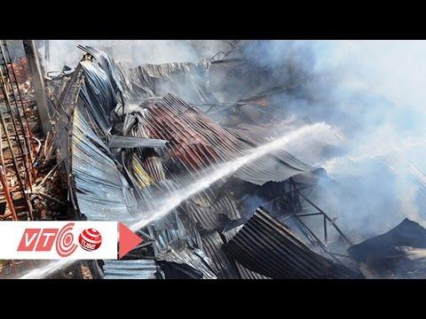 Cháy rụi xưởng may đồ lót phụ nữ | VTC