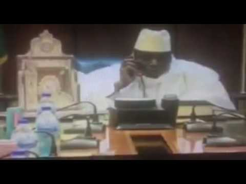 Yahya Jammeh's Concession