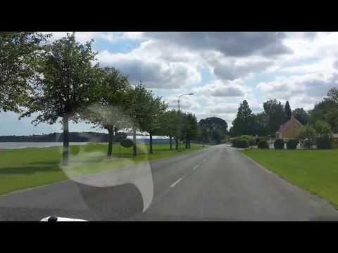 En dejlig køretur ved Mariager