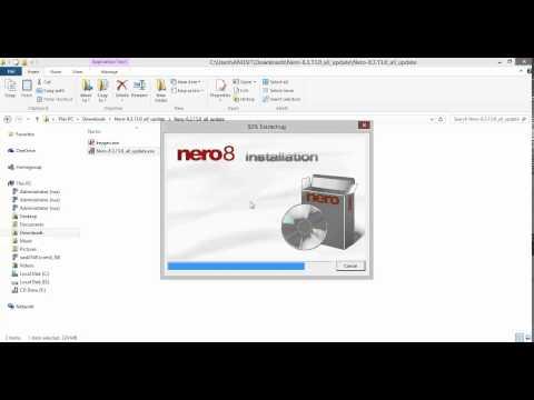 วิธีการลงโปรแกรมNero