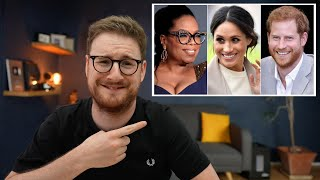 HARRY and MEGHAN with OPRAH - it was HILARIOUS.