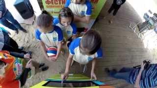 Photohigh. Фотобудка для Комус.(На 15-ом всероссийском фестивале пляжного волейбола работала фотобудка Фотохай Джуниор специально для..., 2014-07-10T09:00:38.000Z)