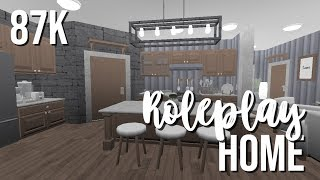 ROBLOX Bloxburg: One Story Roleplay Home 87k (BUILD OFF W/ FAITHXO) ♡