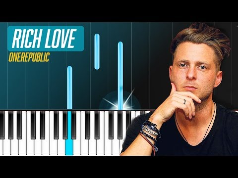 """OneRepublic & Seeb - """"Rich Love"""" Piano Tutorial - Chords - How To Play - Cover"""