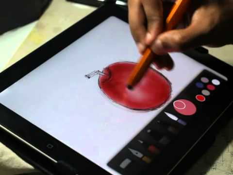 drawing-using-paper-by-fiftythree.-simple-and-best-drawing-apps-on-ipad.