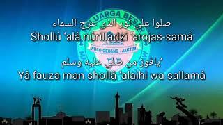 Qasidah Majelis Rasulullah SAW Shollu 39 ala Nurilladzi 39 Arojassama