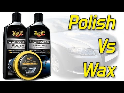 Detailing 101: The Difference Between Polish and Waxes