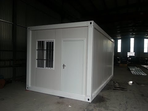 10ftx20ft flat pack container house