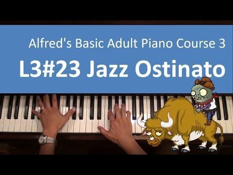 L323 Jazz Ostinato In C Minor