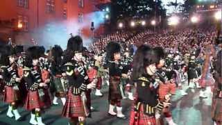 Basel Tattoo 2012 - Massed Pipes and Drums