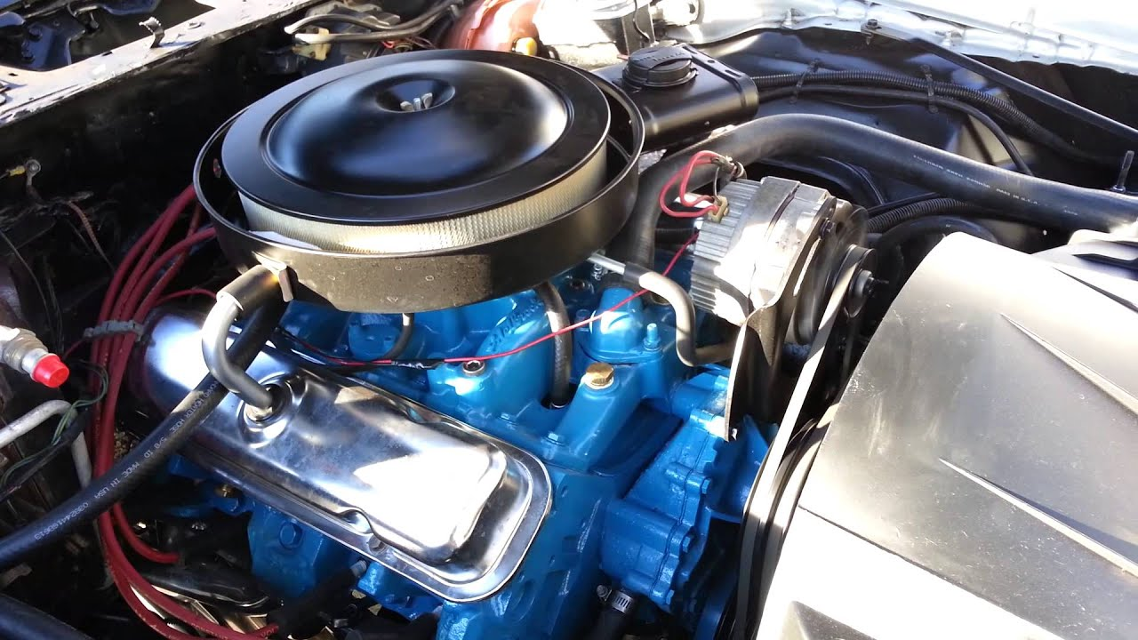 Pontiac Engine Build