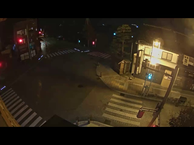 【LIVE CAMERA】飛騨高山ライブカメラ 陣屋前 /Hida-Takayama,In front of the Takayama Jinya