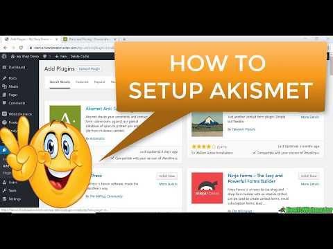 How to Setup AKISMET ANTI-SPAM Wordpress Plugin Review + Quick Tutorial thumbnail