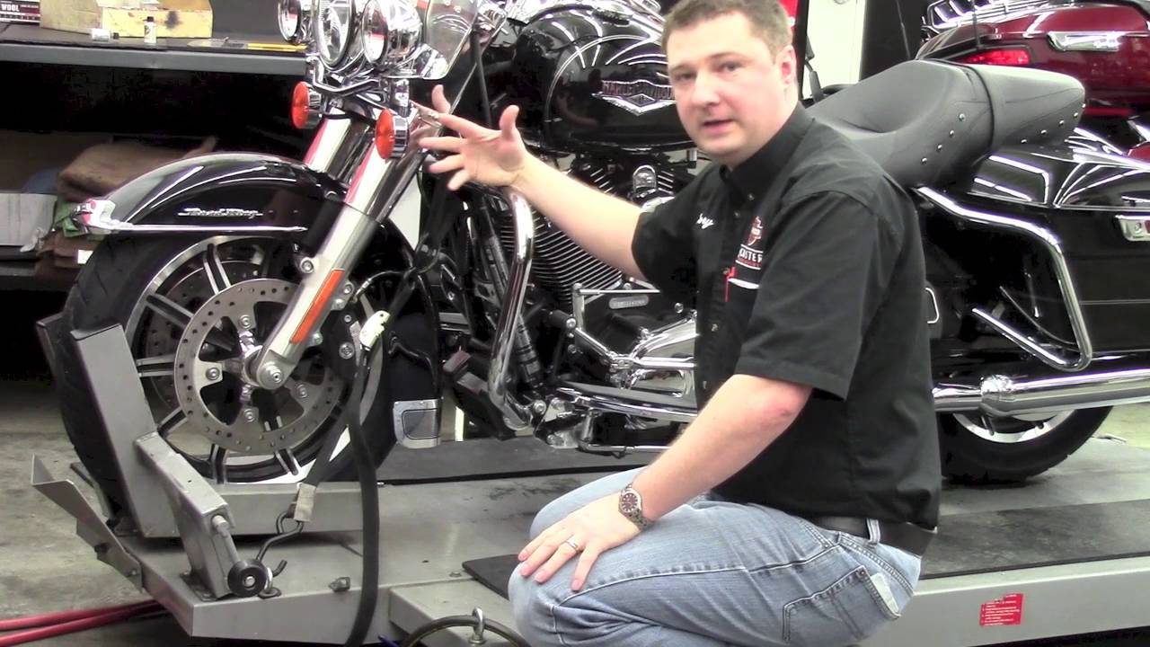 Tie Down A Motorcycle Roosters Harley Davidson Youtube Haulmark 7 Wire Trailer Wiring Diagram