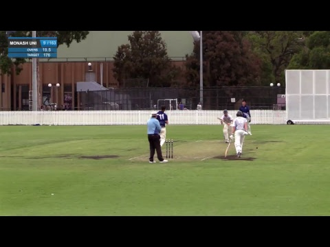 2018 Varsity Challenge - T20 Cricket - Melbourne University v Monash University