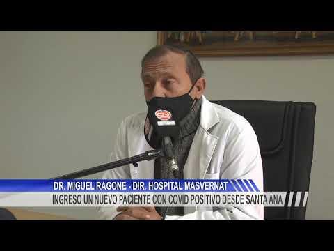 Un paciente con Covid -19 positivo fue derivado desde Chajarí al Hospital Masvernat