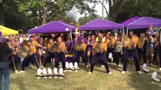 LSU Drumline Double Beat 9000 10/17/15