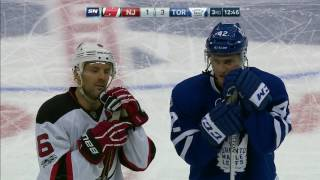 Devils capitalize after getting rough with Maple Leafs