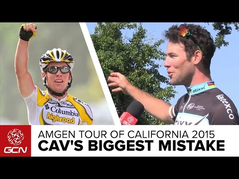 Mark Cavendish's Worst Ever PreRace Mistake  Amgen Tour Of California 2015