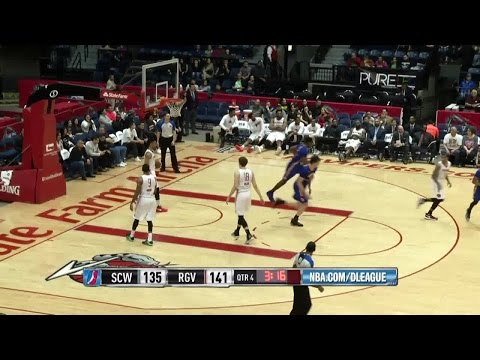 Highlights: Damian Jones (11 points)  vs. the Vipers, 1/9/2017