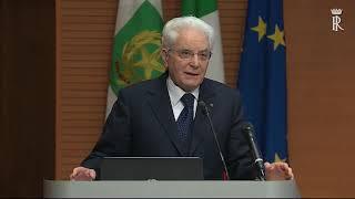 Mattarella al xvii convegno internazionale in ricordo di marco biagi