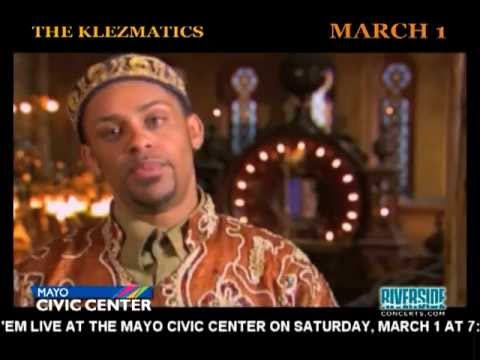 THE KLEZMATICS...Coming To The Mayo Civic Center In Rochester, MN -- March 1, 2014