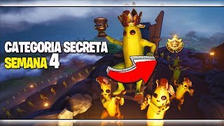 BANNER SECRET - SEMAINE 4 - SAISON 8 - Fortnite