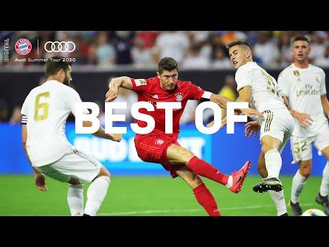 Lewandowski sidesteps Real Madrid Defense! Best FC Bayern Moments of all Audi Summer Tours