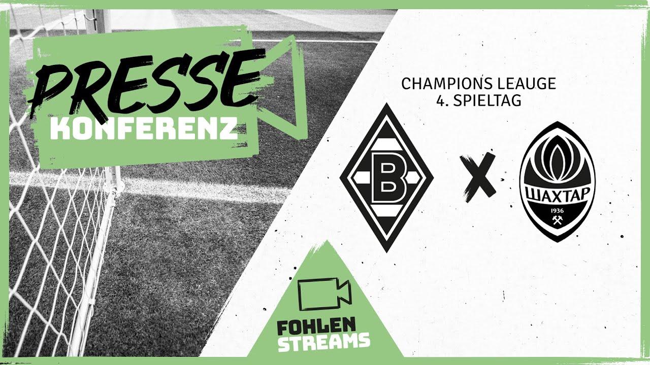 PK vor dem Spiel: Borussia - Shakhtar Donezk