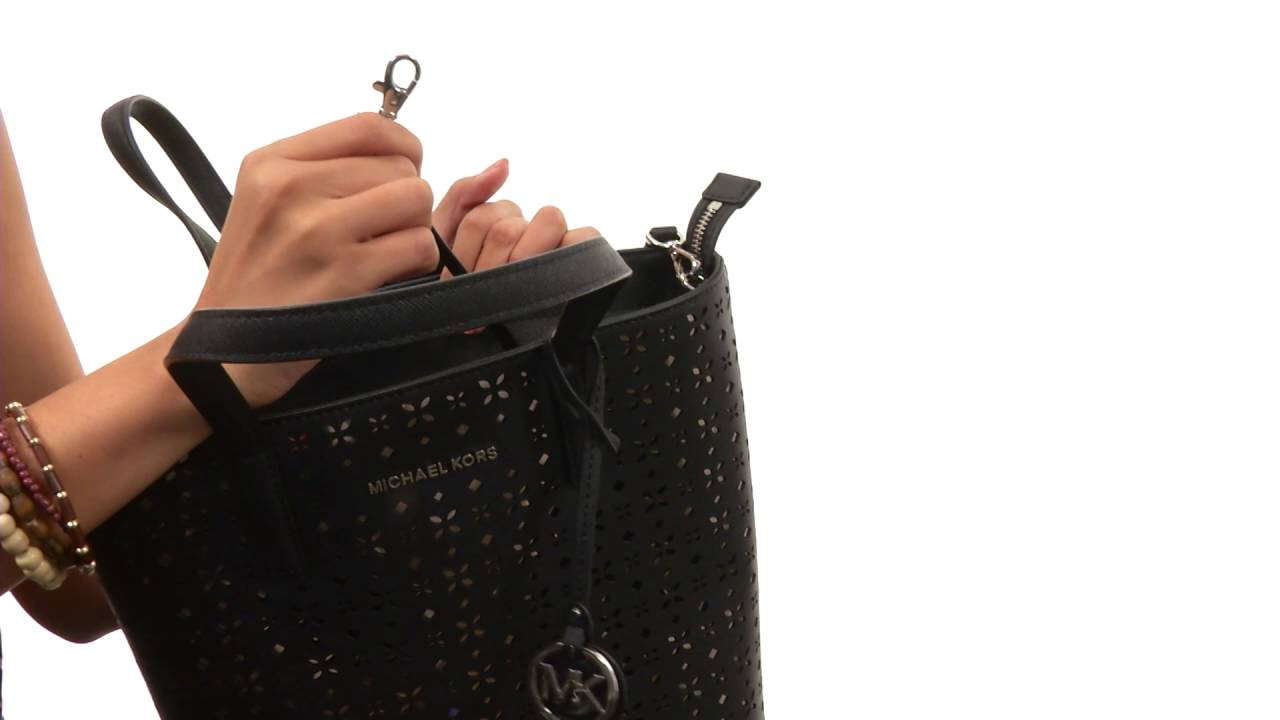 4bbc507904cf MICHAEL Michael Kors Hayley Medium North/South Top Zip Tote SKU:8752573 -  YouTube