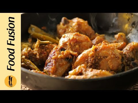 Highway style chicken karahi recipe by food fusion