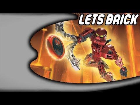 Lets Brick Bionicle - 8601 - Toa Vakama