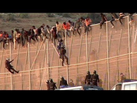 Melilla Grenze