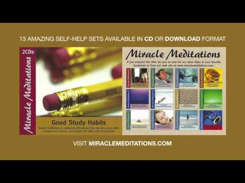 Good Study Habits Subliminal Affirmations with Music & Ocean