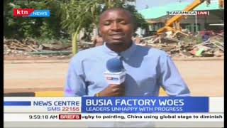 Busia sugar industry: Raila to launch new factory on 12th Dec
