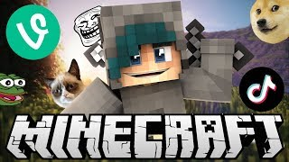 THIS VIDEO PLAYS A MEME EVERY TIME I DIE! - Minecraft Bedwars