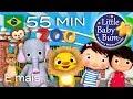 Canção do Zoo | E muitas mais Canções de Ninar | LittleBabyBum!