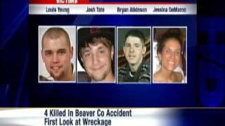 Mangled Vehicles Tell Tale Of Beaver Crash That Killed 4