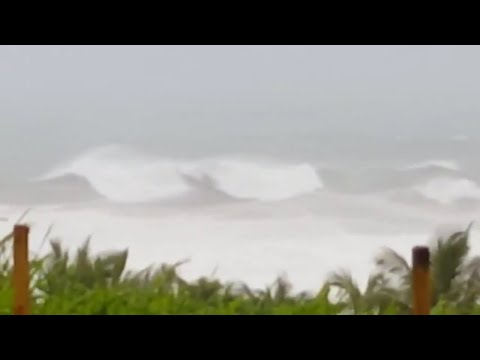 HURRICANE MARIA FOOTAGE MARTINIQUE LIVE September 19,2017