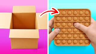 Wonderful And Cheap Cardboard Ideas || Home Decor Crafts And DIY Playhouse