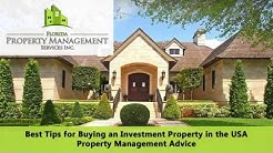Best Tips for Buying an Investment Property in the USA – Fort Lauderdale Property Management Advice