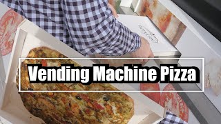 First Time Eating Vending Machine Pizza