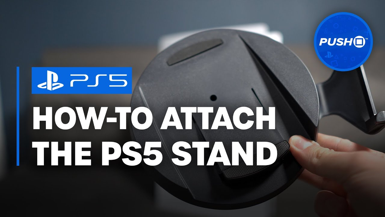 How to Attach PS5 Stand | PlayStation 5