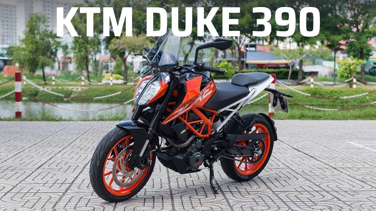 Trên tay KTM DUKE 390