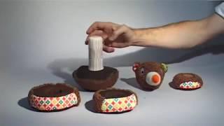 """Обзор игрушки  """"ПИРАМИДКА МИШКА"""" от Ebulobo"""