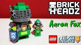 LEGO Nexo-Knights: Aaron BRICKHEADZ (Custom Figure instruction)