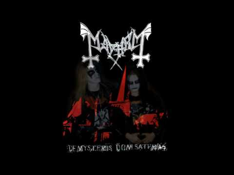 Mayhem - De Mysteriis Dom Sathanas (Dead on vocals)